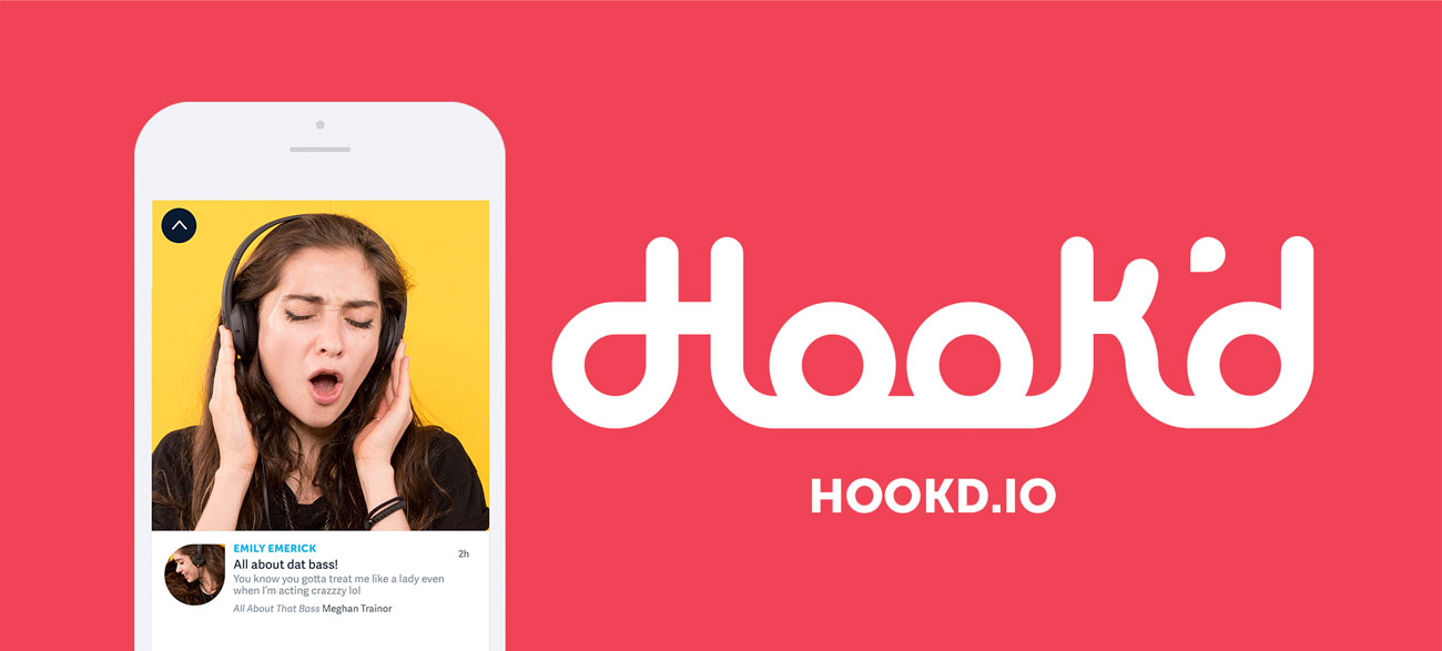 Hook'd iOS music platform